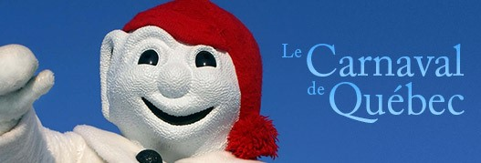 Bonhomme is the official representative of the Quebec Winter Carnival. It is a snowman-like figure clad in the distinctive red tuque and arrow sash of Quebecois heroes.